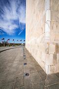 Detail of the Washington Monument, Washington, DC USA