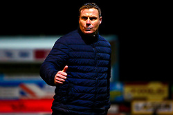 Mansfield Town manager David Flitcroft acknowledges Mansfield Town fans at full time - Mandatory by-line: Ryan Crockett/JMP - 12/01/2019 - FOOTBALL - One Call Stadium - Mansfield, England - Mansfield Town v Yeovil Town - Sky Bet League Two