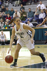 17 December 2011:  Colleen McMahon during an NCAA womens division 3 basketball game between the St. Francis Fighting Saints and the Illinois Wesleyan Titans in Shirk Center, Bloomington IL