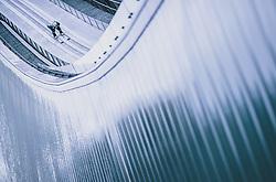 31.12.2019, Olympiaschanze, Garmisch Partenkirchen, GER, FIS Weltcup Skisprung, Vierschanzentournee, Garmisch Partenkirchen, Qualifikation, im Bild Domen Prevc (SLO) // Domen Prevc of Slovenia during his qualification Jump for the Four Hills Tournament of FIS Ski Jumping World Cup at the Olympiaschanze in Garmisch Partenkirchen, Germany on 2019/12/31. EXPA Pictures © 2019, PhotoCredit: EXPA/ JFK