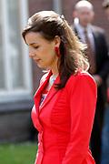 On Queensday, april 30th the Queen attends the celebrations of Queensday in Scheveningen near the Hague.<br /> This is her 25th jubilee.<br /> <br /> Op Koninginnedag, 30 april, is de Koningin  's Middags aanwezig metn en haar familie het koninginnedagfeest mee te vierten in Scheveningen.<br /> <br /> On The photo / On the Photo;<br /> <br />  Anita van Eijk ( engaged with Prince Pieter-Christiaan )<br />  Anita van Eijk ( verloofd met  Prins Pieter-Christiaan )
