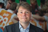 NIEUWEGEIN - Directeur KNHB van 1 september 2014, Erik Gerritsen. KNHB medewerkers en organisatie WK Hockey 2014. FOTO KOEN SUYK