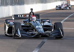 March 10, 2019 - St. Petersburg, FL, U.S. - ST. PETERSBURG, FL - MARCH 10: Ed Carpenter Racing driver Ed Carpenter (20) of United States during the IndyCar Series - Firestone Grand Prix Race on March 10 in St. Petersburg, FL. (Photo by Andrew Bershaw/Icon Sportswire) (Credit Image: © Andrew Bershaw/Icon SMI via ZUMA Press)