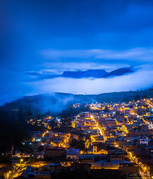 Citylights of Chachapoyas.