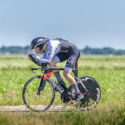 EMMEN (NED) June 16: <br />CYCLING <br />Dutch Nationals Time Trail men U23 Niels van der Gracht