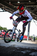 #269 (NAKAI Asuma) JPN at Round 5 of the 2019 UCI BMX Supercross World Cup in Saint-Quentin-En-Yvelines, France