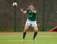 Ireland's Paddy McKenzie<br /> <br /> Photographer Bob Bradford/CameraSport<br /> <br /> The 2018 U18 6 Nations Festival - Ireland U18 v Italy U18 - Saturday 31st March 2018 - CCB Centre for Sporting Excellence, Ystrad Mynach Hengoed <br /> <br /> World Copyright © 2018 CameraSport. All rights reserved. 43 Linden Ave. Countesthorpe. Leicester. England. LE8 5PG - Tel: +44 (0) 116 277 4147 - admin@camerasport.com - www.camerasport.com