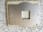 """Omega D2 Enlarger; 2 1/4"""" x 2 1/4"""" (6x6 cm) film holder."""
