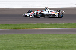 April 30, 2018 - Indianapolis, IN, U.S. - INDIANAPOLIS, IN - APRIL 30: Will Power (12) during an Open Test on April 30, 2018, at the Indianapolis Motor Speedway in Indianapolis, IN. (Photo by James Black/Icon Sportswire) (Credit Image: © James Black/Icon SMI via ZUMA Press)