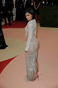 May 3, 2016 - New York City, NY, USA - <br /> <br /> Kylie Jenner  arriving at the ''Manus x Machina: Fashion in the Age of Technology'', The Costume Institute of The Metropolitan Museum of Art Gala 2016<br /> ©Exclusivepix Media