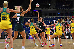 Spar Proteas' Erin Burger in action during the Vitality Netball International Series match at the Echo Arena, Liverpool.