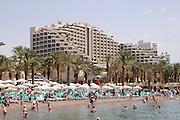 Nordstrand, Hotels, Eilat, Rotes Meer, Israel.|.North Beach, hotels, Eilat, Red Sea, Israel.