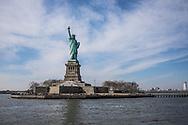 NEW YORK  2020V10<br /> Frihetsgudinnan och Libery Island.<br /> <br /> Foto: Per Danielsson/Projekt.P