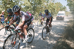 Nancy van der Burg (NED) at Strade Bianche - Elite Women 2020, a 136 km road race starting and finishing in Siena, Italy on August 1, 2020. Photo by Tornanti/velofocus.com