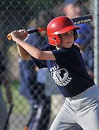 Red Sox vs Indians in an Avon Lake Youth Baseball Minor game at Westview Elementary School in Avon Lake on June 15, 2011.