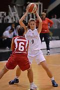 DESCRIZIONE : Roma Basket Campionato Italiano Femminile serie B 2012-2013<br />  College Italia  Gruppo L.P.A. Ariano Irpino<br /> GIOCATORE : Anita Russo<br /> CATEGORIA : difesa<br /> SQUADRA : College Italia<br /> EVENTO : College Italia 2012-2013<br /> GARA : College Italia  Gruppo L.P.A. Ariano Irpino<br /> DATA : 03/11/2012<br /> CATEGORIA : palleggio<br /> SPORT : Pallacanestro <br /> AUTORE : Agenzia Ciamillo-Castoria/GiulioCiamillo<br /> Galleria : Fip Nazionali 2012<br /> Fotonotizia : Roma Basket Campionato Italiano Femminile serie B 2012-2013<br />  College Italia  Gruppo L.P.A. Ariano Irpino<br /> Predefinita :