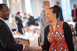 13 September 2017, New York, USA: On Gathering at the Yale Club in New York on 13 September for an interfaith prayer breakfast, faith leaders from a multitude of religions came together to support a coordinated faith-based effort in responding to HIV. The event was hosted by the World Council of Churches–Ecumenical Advocacy Alliance (WCC-EAA) in collaboration with UNAIDS, the United States President's Emergency Plan for AIDS Relief and the United Nations Interagency Task Force on Religion and Development on the side-lines of the 72nd session of the United Nations General Assembly.