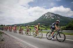 Jakub Mareczko (ITA) of Wilier Triestina-Selle Italia, Jacques Janse van Rensburg (AUS) of Team Dimension Data during Stage 1 of 24th Tour of Slovenia 2017 / Tour de Slovenie from Koper to Kocevje (159,4 km) cycling race on June 15, 2017 in Slovenia. Photo by Vid Ponikvar / Sportida