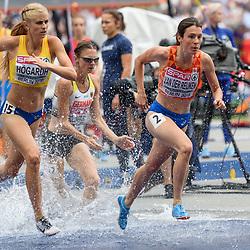 Irene van der Reijken bij het EK atletiek in Berlijn op 10-8-2018