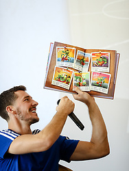 Goran Dragic at presentation of Goran Dragic and Primoz Suhodolcan book Goran, legenda of zmaju, on August 23 2017 in Radisson Blu Plaza, Ljubljana, Slovenia. Photo by Matic Klansek Velej / Sportida