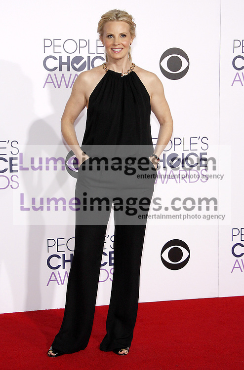 Monica Potter at the 41st Annual People's Choice Awards held at the Nokia L.A. Live Theatre in Los Angeles on January 7, 2015. Credit: Lumeimages.com