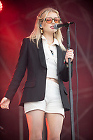 Lucy Blue at the Big Feastival 2021 on Alex James Cotswolds farm, Kingham oxfordshire