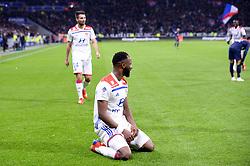 February 3, 2019 - Lyon, France - 09 MOUSSA DEMBELE (OL) - JOIE (Credit Image: © Panoramic via ZUMA Press)