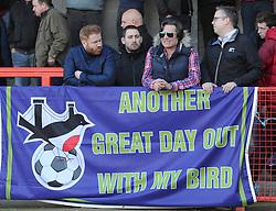 Bristol City fans - Photo mandatory by-line: Dougie Allward/JMP - Mobile: 07966 386802 - 07/03/2015 - SPORT - Football - Crawley - Broadfield Stadium - Crawley Town v Bristol City - Sky Bet League One