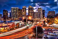 Bellevue Skyline, Evening