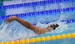 Evgeny Rylov of Russia wins the 200 backstroke - 17th FINA Aquatics World Championships held in Budapest, Hungary on July 28, 2017. Photo by Giuliano Bevilacqua/ABACAPRESS.COM