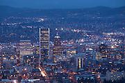 Downtown Portland, Oregon. Winter 2013.