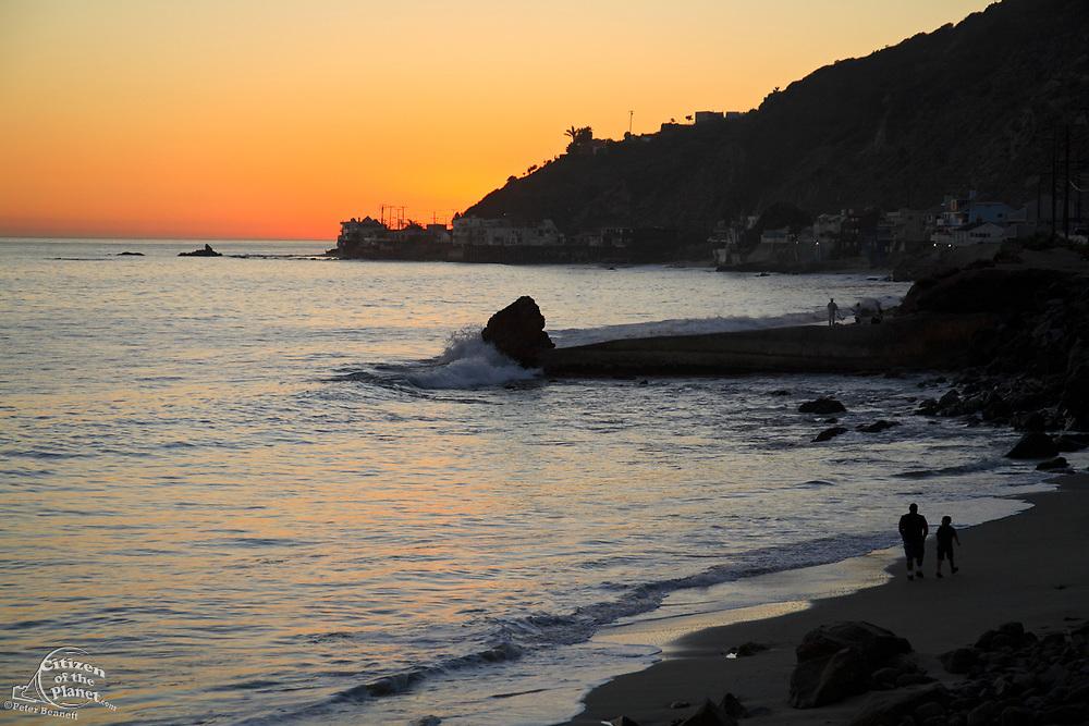 Malibu Coastline, Los Angeles County, California