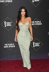 Kim Kardashian at the 2019 E! People's Choice Awards held at the Barker Hangar in Santa Monica, USA on November 10, 2019.