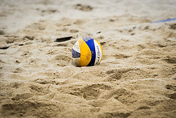 Ball during Qlandia Beach Challenge 2015 and Beach Volleyball Slovenian National Championship 2015, on July 25, 2015 in Kranj, Slovenia. Photo by Ziga Zupan / Sportida