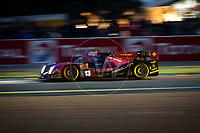 Qualifying Matheo Tuscher (CHE) / Dominik Kraihamer (AUT) / Alexandre Imperatori )CHE) driving the LMP1 Rebellion Racing Rebellion R-One - AER 24hr Le Mans 15th June 2016