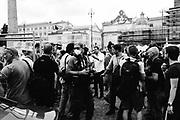 """Matteo Salvini. Manifestazione del centrodestra """"Insieme per l'Italia del Lavoro"""". Roma 5 luglio 2020. Christian Mantuano"""
