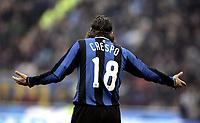 "Hernan Crespo (Inter) <br />Italian ""Serie A"" 2006-2007<br />23 Dic 2006 (Match Day 18)<br />Inter-Atalanta 2-1<br />""Giuseppe Meazza"" Stadium-Milano-Italy<br />Photographer:Jennifer Lorenzini INSIDE"