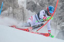 Marco Schwarz (AUT) during 1st run of Men's Slalom race of FIS Alpine Ski World Cup 57th Vitranc Cup 2018, on March 4, 2018 in Kranjska Gora, Slovenia. Photo by Ziga Zupan / Sportida