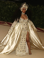 May 7, 2018 - New York City, New York, U.S. - Rapper CARDI B attends the Costume Institute Benefit celebrating the opening of Heavenly Bodies: Fashion and the Catholic Imagination exhibit held at at The Metropolitan Museum of Art. (Credit Image: © Nancy Kaszerman via ZUMA Wire)