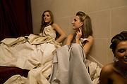 VIOLET HESKETH; ANNA HESKETH, The 2008 Crillon Debutante Ball, Crillon Hotel. Paris. 29 November 2008 *** Local Caption *** -DO NOT ARCHIVE -Copyright Photograph by Dafydd Jones. 248 Clapham Rd. London SW9 0PZ. Tel 0207 820 0771. www.dafjones.com
