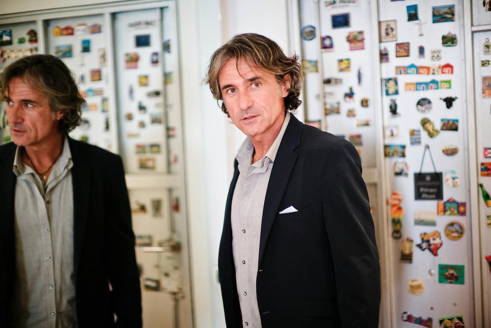 23 FEB 2012 - Castelfranco Veneto (TV) - Franco Antonello, imprenditore ed editore, fondatore della Fondazione I Bambini delle Fate