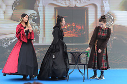 September 8, 2017 - Qingdao, Qingdao, China - Qingdao, CHINA-8th September 2017: (EDITORIAL USE ONLY. CHINA OUT)..Audience enjoy plays of Grimms' Fairy Tales at German Cultural Week in Qingdao, east China's Shandong Province. (Credit Image: © SIPA Asia via ZUMA Wire)