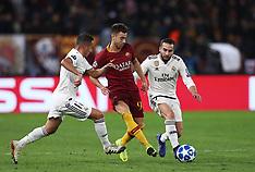 AS Roma v Real Madrid - 27 Nov 2018