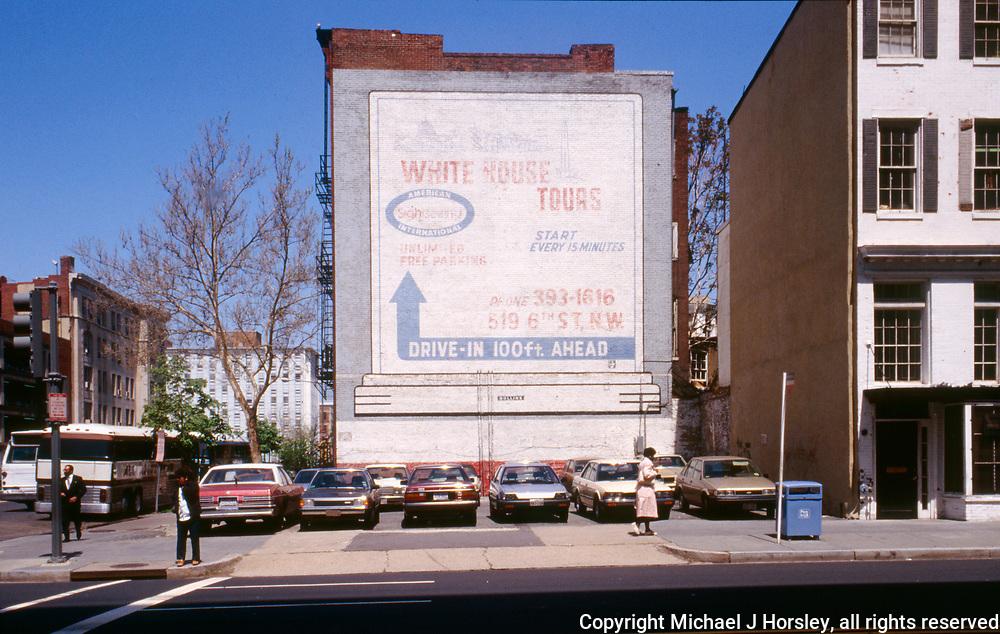 6th and E Street Nw Washington DC, 1988