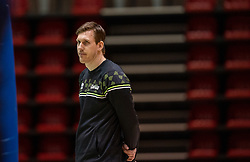 Coach Joris Marcelis of Orion in action during the league match between Active Living Orion vs. Amysoft Lycurgus on March 20, 2021 in Doetinchem.