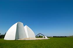Moere Music Shell sculpture in Moerenuma Park in Sapporo Japan