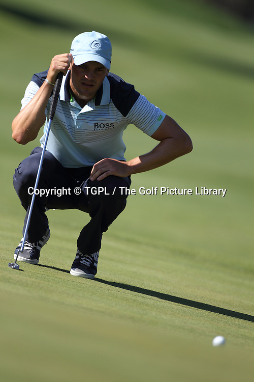 Martin KAYMER (GER)  lining up putt during third round Turkish Airlines Open by Ministry of Culture and Tourism 2013,Montgomerie Course at Maxx Royal,Belek,Antalya,Turkey.