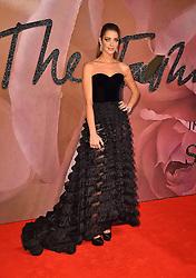 Ana Beatriz Barros attending The Fashion Awards 2016 at the Royal Albert Hall, London.