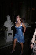Francesca Versace. Fashion show and dinner hosted by Shangri-la Hotels and Andy Wong featuring fashion by new designer Lu Kun held at The Goldsmiths Hall, Foster Lane, London on 25th April 2005ONE TIME USE ONLY - DO NOT ARCHIVE  © Copyright Photograph by Dafydd Jones 66 Stockwell Park Rd. London SW9 0DA Tel 020 7733 0108 www.dafjones.com