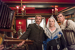 RELEASE DATE: December 21, 2018 TITLE: Holmes & Watson STUDIO: Columbia Pictures DIRECTOR: Etan Cohen PLOT: A humorous take on Sir Arthur Conan Doyle's classic mysteries featuring Sherlock Holmes and Doctor Watson. STARRING: JOHN C. REILLY as Watson, PAM FERRISAS Queen Victoria, WILL FERRELL as Sherlock Holmes. (Credit Image: © Columbia Pictures/Entertainment Pictures/ZUMAPRESS.com)